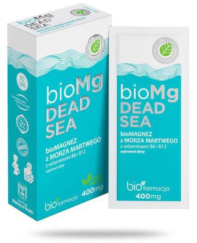Biofarmacja BioMagnez z morza martwego 7 saszetek