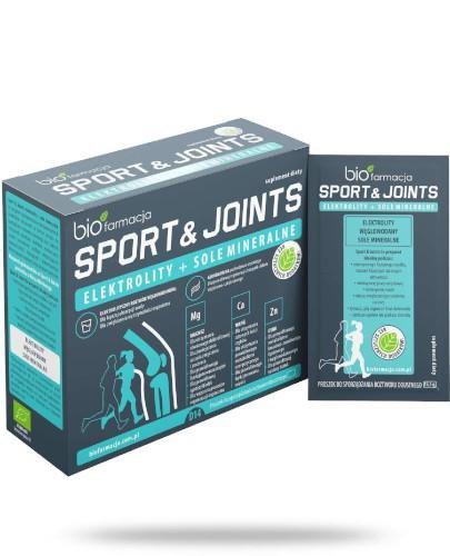 Biofarmacja Sport & Joints elektrolity + sole mineralne 14 saszetek