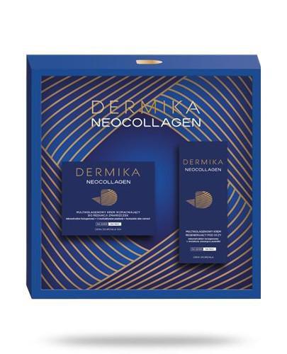 Dermika Neocollagen zestaw 60+ krem naprawczy 50 ml + krem pod oczy 15 ml [ZESTAW]