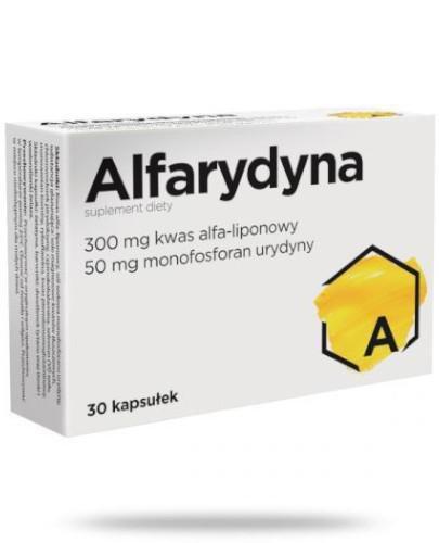 Alfarydyna 30 kapsułek
