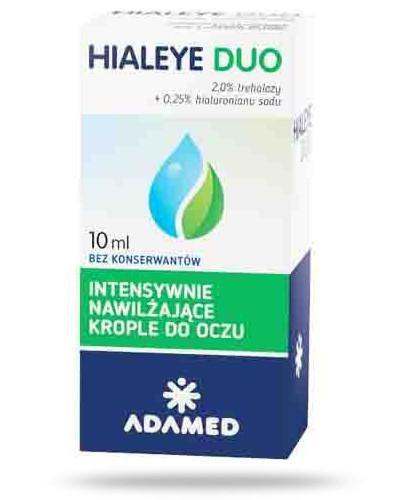 Hialeye Duo Intensywnie nawilżające krople do oczu 10 ml