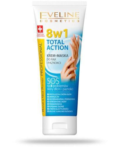 Eveline 8w1 Total Action krem-maska do rąk i paznokci 75 ml