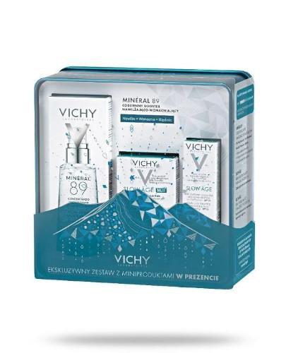 Vichy Mineral 89 codzienny booster nawilżająco-wzmacniający 50 ml + krem na dzień 3 m...