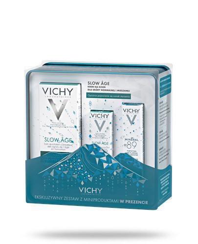 Vichy Slow Age krem na dzień dla skóry normalnej i mieszanej 50 ml + miniprodukty [ZESTA...