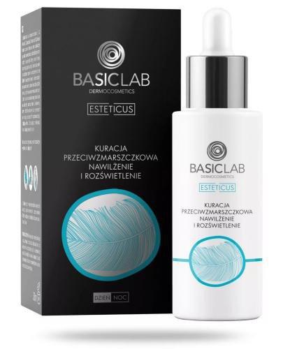 BasicLab Esteticus kuracja przeciwzmarszczkowa, nawilżenie i rozświetlenie na dzień i n...