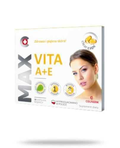 Colfarm Max Vita A+E 30 kapsułek