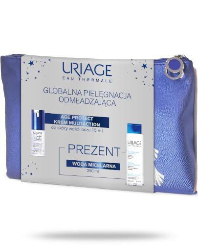 Uriage Age Protect Krem Multiaction do skóry wokół oczu 15 ml + woda micelarna 250 ml [...