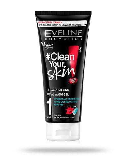 Eveline Clean Your Skin ultraoczyszczający żel do mycia twarzy 200 ml