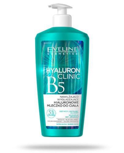 Eveline Hyaluron Clinic B5 nawilżająco wygładzające hialuronowe mleczko do ciała 350 ...