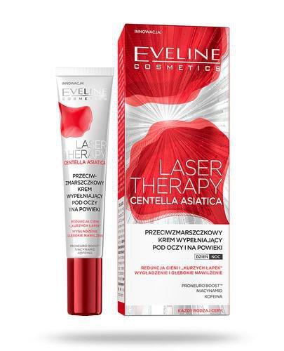 Eveline Laser Therapy Centella Asiatica przeciwzmarszczkowy krem wypełniający pod oczy ...
