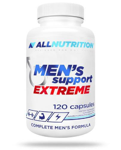 Allnutrition Men's Support Extreme 120 kapsułek