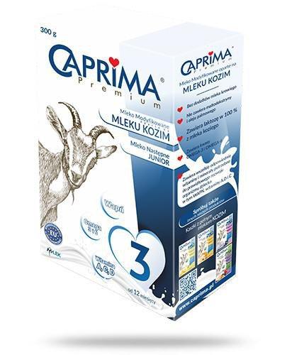 Caprima Premium 3 mleko modyfikowane oparte na mleku kozim 300 g