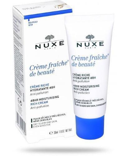 Nuxe Creme Fraiche de Beaute Creme Riche krem nawilżający o bogatej konsystencji 30 ml