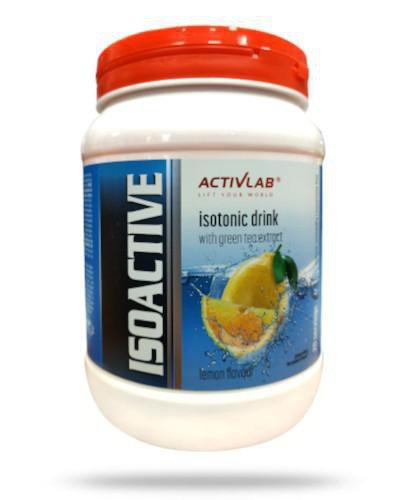 ActivLab Isoactive o smaku cytrynowym 630 g
