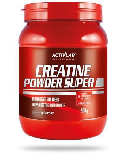 ActivLab Creatine Powder Super smak cytrynowy 500 g
