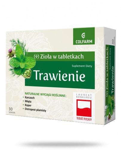 Colfarm Biovitum Liquid Trawienie 30 tabletek