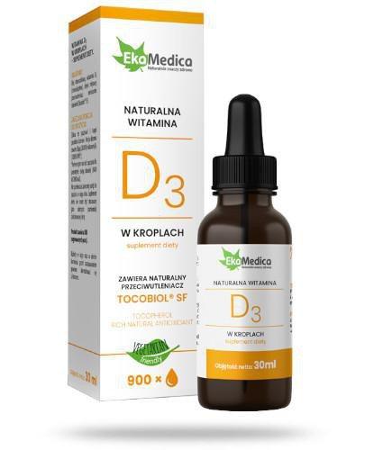 EkaMedica witamina D3 30 ml