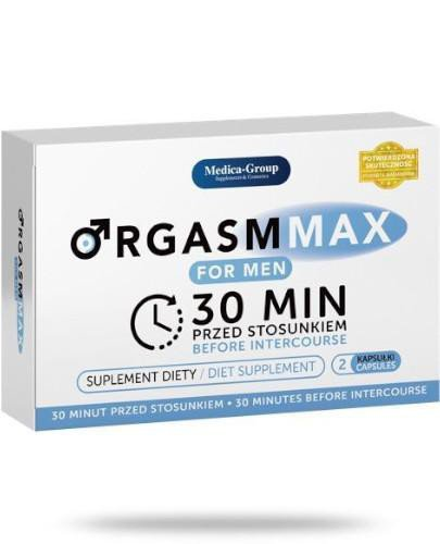 Medica-Group Orgasm Max For Men 2 kapsułki