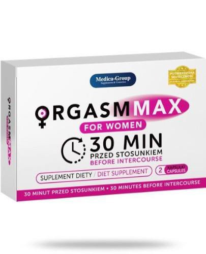 Medica-Group Orgasm Max For Women 2 kapsułki