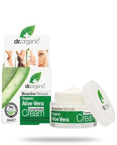 Dr.Organic Aloe Vera krem ze skoncentrowanym organicznym aloesem 50 ml