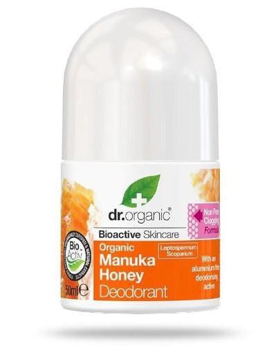 Dr.Organic Manuka Honey dezodorant w kulce z organicznym miodem manuka 50 ml