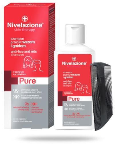Ideepharm Nivelazione Skin Therapy PURE Szampon przeciw wszom i gnidom 100 ml