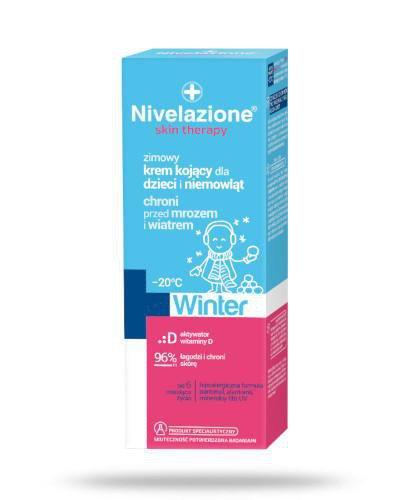 Ideepharm Nivelazione Skin Therapy Zimowy krem kojący dla dzieci i niemowląt 75 ml
