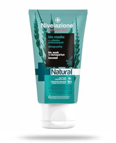 Ideepharm Nivelazione Skin Therapy Natural BIO Maska do włosów zniszczonych skrzyp poln...