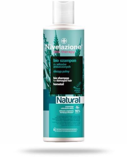 Ideepharm Nivelazione Skin therapy Natural Bio szampon do włosów zniszczonych skrzyp pol...