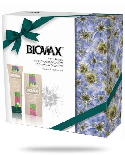 Biovax Botanic Demakijaż Włosów Czystek & Czarnuszka odżywka 200 ml + szampon 200 ml [...