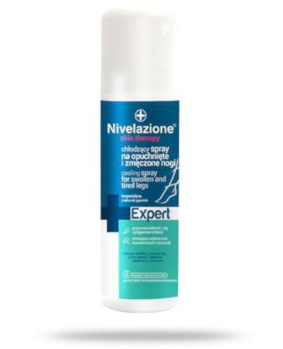 Ideepharm Nivelazione Skin Therapy Expert chłodzący spray na opuchnięte i zmęczone nog...