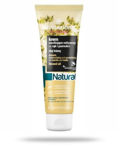 Ideepharm Nivelazione Skin Therapy Natural nawilżająco-odżywczy krem do rąk i paznokc...