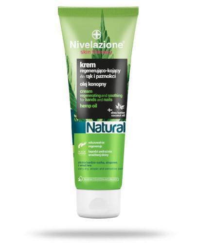 Ideepharm Nivelazione Skin Therapy Natural Regenerująco-kojący krem do rąk i paznokci ...