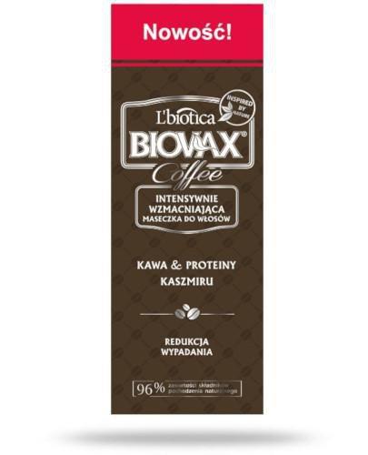 Biovax Glamour Coffee intensywnie wzmacniająca maseczka do włosów 150 ml