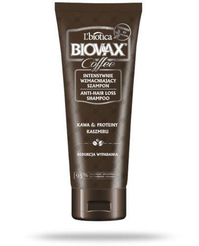 Biovax Glamour Coffee intensywnie wzmacniający szampon 200 ml