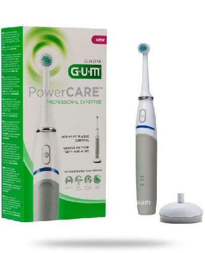 GUM PowerCARE szczoteczka elektryczna do zębów 1 sztuka + GUM Paroex 0,06% CHX pasta do ...