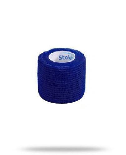 Stokban bandaż elastyczny samoprzylepny niebieski 10cm x 4,5m 1 sztuka