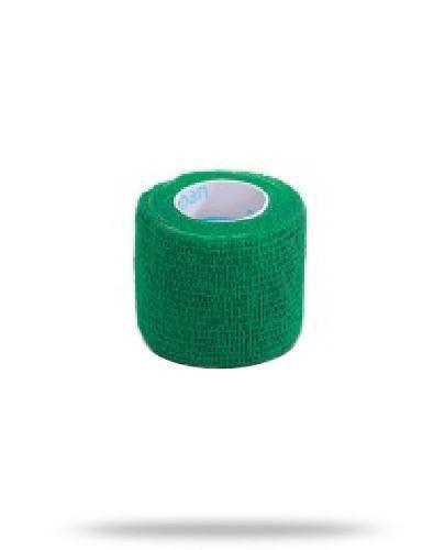 Stokban bandaż elastyczny samoprzylepny zielony 5cm x 4,5m 1 sztuka