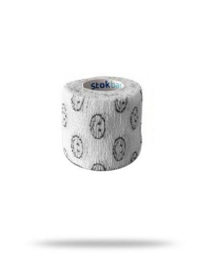 Stokban bandaż elastyczny samoprzylepny biały uśmiech 5cm x 4,5m 1 sztuka