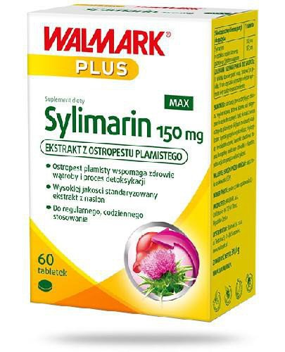 Walmark Sylimarin MAX 150mg 60 tabletek