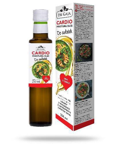Dr Gaja Cardio Mikstura Olei do sałatek niefilotrowane oleje tłoczone na zimno 250 ml