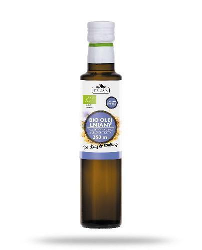 Dr Gaja BIO olej lniany tłoczony na zimno 250 ml