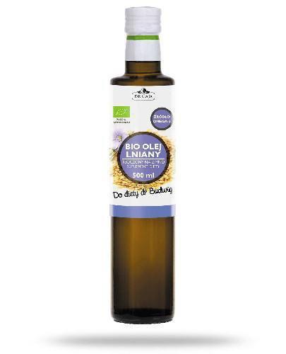 Dr Gaja BIO olej lniany tłoczony na zimno 500 ml