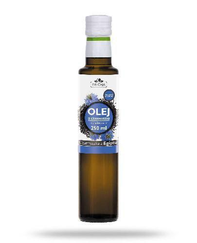 Dr Gaja olej z czarnuszki tłoczony na zimno nierafinowany 250 ml