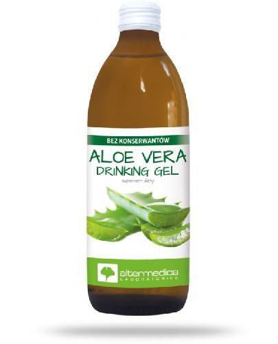 Alter Medica Aloe Vera sok z kawałkami miąższu 1000 ml