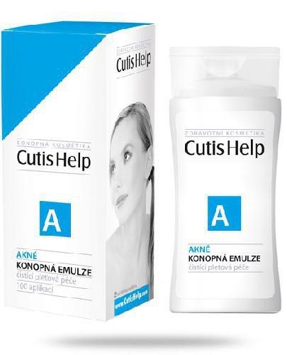 CutisHelp A konopna emulsja do skóry trądzikowej 100 ml