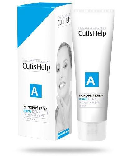 CutisHelp A krem konopny na dzień do skóry trądzikowej 30 ml
