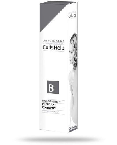 CutisHelp B krem konopny do masażu skóry 75 ml
