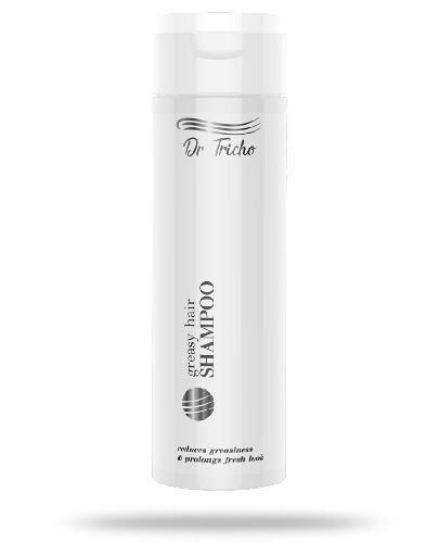 Dr Tricho greasy hair szampon do włosów przetłuszczających się 200 ml + dedykowany sz...