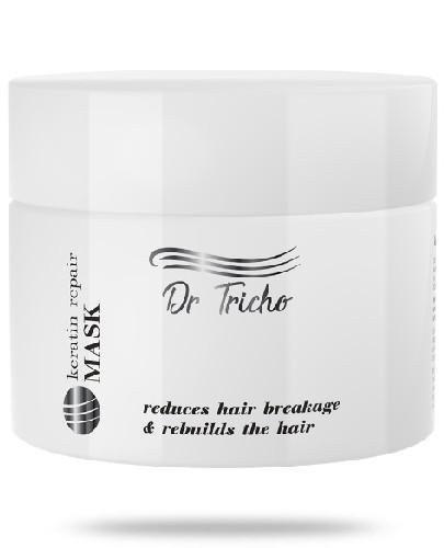 Dr Tricho maska keratynowa do włosów 300 ml + dedykowany szampon 200 ml [GRATIS]